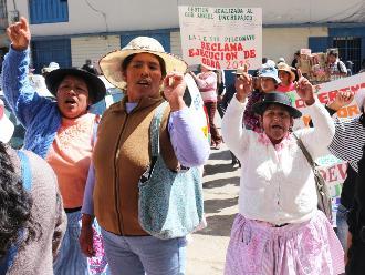 Huancayo: padres de familia de Pilcomayo exigen construcción de aulas