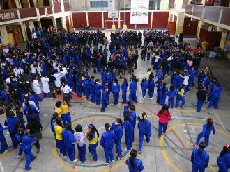 Ica: estudiantes participaron del III Simulacro Nacional Escolar