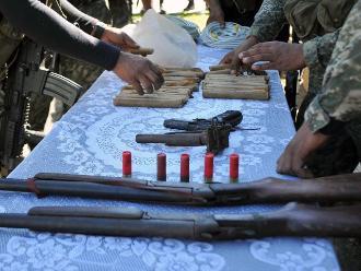 Ayacucho: patrullas del ejército hallan armamento terrorista en el Vraem