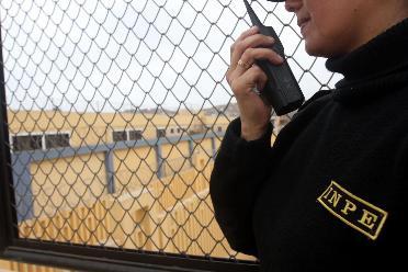 Cañete: inauguran sistema de bloqueo de llamadas en penal La Cantera