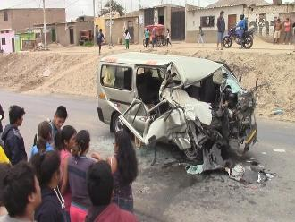 Chiclayo: 400 accidentes de tránsito se reportan en lo que va del 2015
