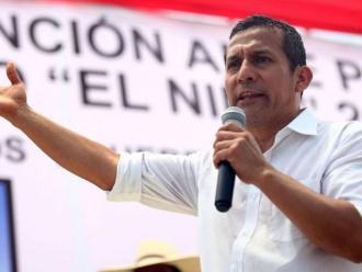 Ollanta Humala: Este gobierno no se detendrá pese al ruido político