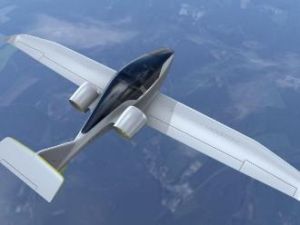Avión eléctrico sobrevuela con éxito el canal de la Mancha