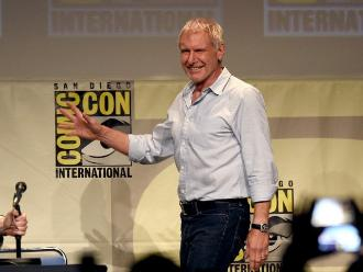 Comic-Con: Harrison Ford reapareció tras accidente