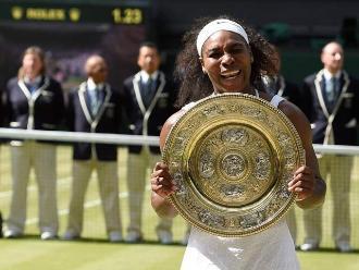 Wimbledon: Serena Williams se corona como la reina del Grand Slam británico