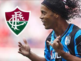 Ronaldinho Gaúcho se convirtió en flamante contratación de Fluminense
