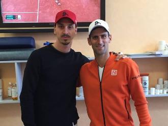 Wimbledon: Zlatan Ibrahimovic felicitó a Novak Djokovic tras ganar la final