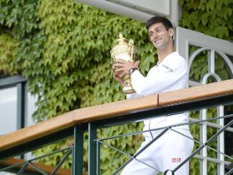 Wimbledon: La felicidad de Djokovic al ganar su tercer título