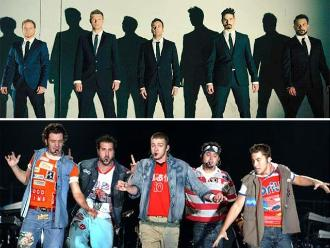 Backstreet Boys y 'N Sync se unen en película