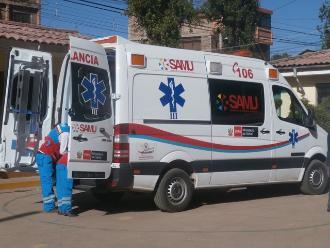 Apurímac: ocho personas heridas tras vuelco de motocarga