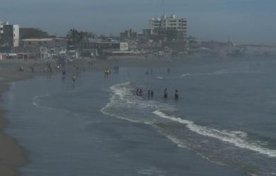 Advierten presencia de vientos intensos en el litoral sur y centro