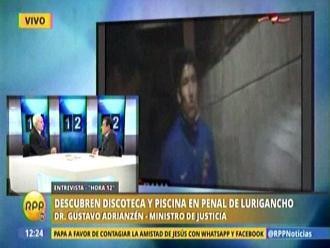 Adrianzén anuncia medidas para combatir hacinamiento en penales