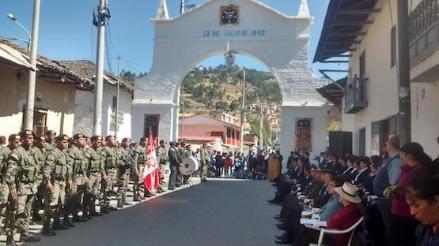 Cajamarca: rinden homenaje a caídos en la Batalla de San Pablo