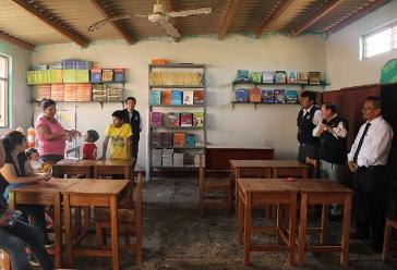 Chiclayo: más de 400 alumnos beneficiados con nueva biblioteca