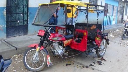 Prenden fuego a mototaxi de regidor provincial de Bagua