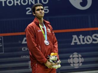 Panamericanos 2015: El peruano Diego Elías fue premiado con la medalla de plata