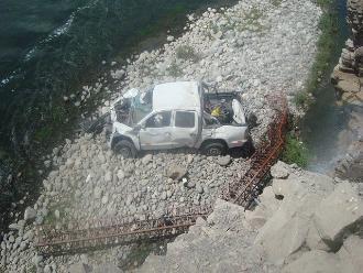 La Libertad: descartan muertos en accidente de Santiago de Chuco
