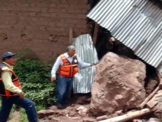 Puno: mujer muere por desprendimiento de rocas en Putina Punco