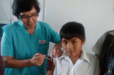 Inmunizan al 48% de lambayecanos vulnerables a la gripe AH1N1