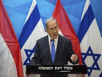 Netanyahu califica de