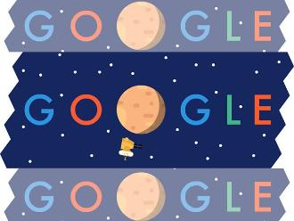Google celebra llegada de sonda New Horizons a Plutón