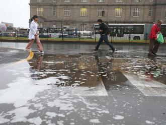Senamhi: vientos fuertes y lloviznas hasta el miércoles en Lima