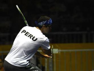 Panamericanos 2015: Diego Elías logró primer punto en squash por equipos