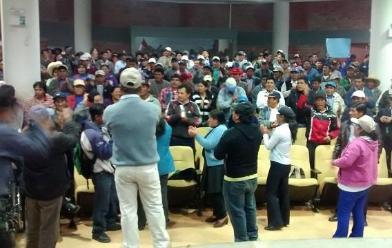 Cajamarca: trabajadores municipales sin empleo por sentencia del TC