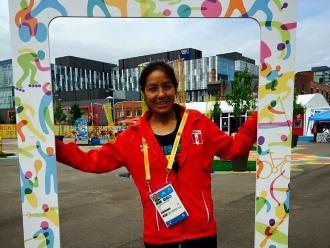 Panamericanos 2015: Inés Melchor llegó a Toronto decidida a colgarse el oro