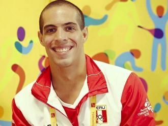 Panamericanos 2015: Mauricio Fiol ganó medalla de plata en 200 metros mariposa