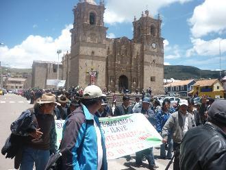 Puno: dirigentes aymaras anuncian paro preventivo para el 23 y 24 de julio