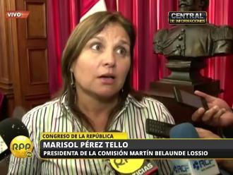 Pérez Tello: Investigaciones de Comisión MBL buscan llegar a la verdad