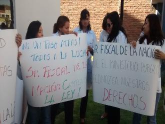 Arequipa: trabajadores de Medicina Legal acatan paro