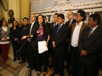 Nadine Heredia: Comisión Belaunde no ofrece garantía de imparcialidad