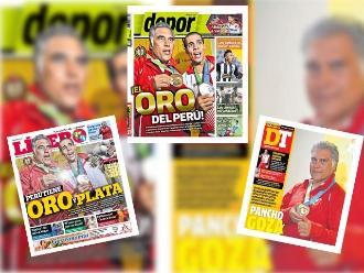 Panamericanos 2015: Francisco Boza y Mauricio Fiol acaparan portadas