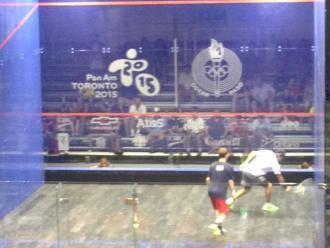 Panamericanos 2015: Perú perdió ante Argentina en squash por equipos masculinos