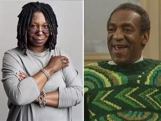 Whoopi Goldberg en contra de Bill Cosby