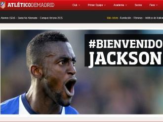 Atlético de Madrid anuncia el fichaje de Jackson Martínez