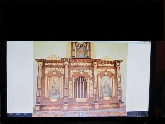 Cusco: entregan retablo para la Virgen del Carmen en Pisac
