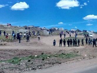 Puno: roban campamento del gobierno regional en Yocará