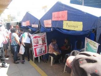 Población de Lambayeque beneficiada con campaña médica