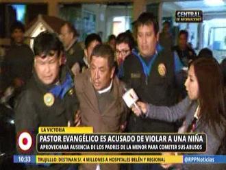La Victoria: acusan a pastor evangélico de violar a niña