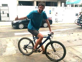 La Libertad: campeón mundial de ciclismo recorre Trujillo