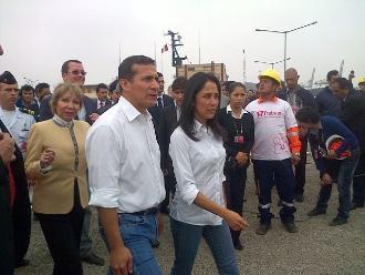 Ollanta Humala: Respaldo a Nadine Heredia y la felicito por defenderse