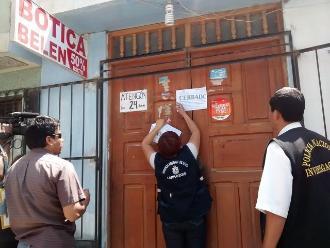 Lambayeque: unos 132 recintos farmacéuticos en riesgo de ser cerrados