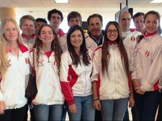 Panamericanos 2015: Equipo peruano de golf lucha por el pase a siguiente instancia