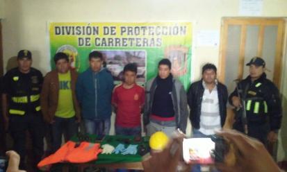 Cajamarca: intervienen a delincuentes que pretendían asaltar a empresario