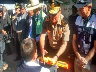 Arequipa: PNP realiza campaña para el no uso de armas de juguete