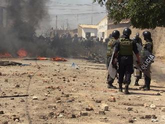 Chiclayo: violento desalojo deja como saldo 10 personas heridas
