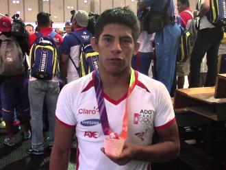 Panamericanos 2015: Peruano Pablo Benites perdió el bronce en lucha